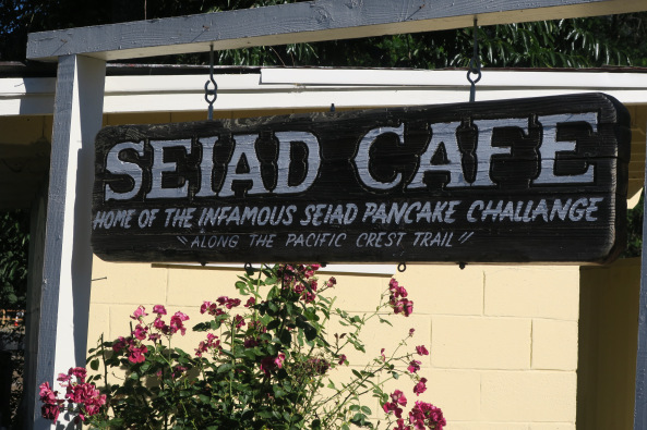 Seiad Cafe sign